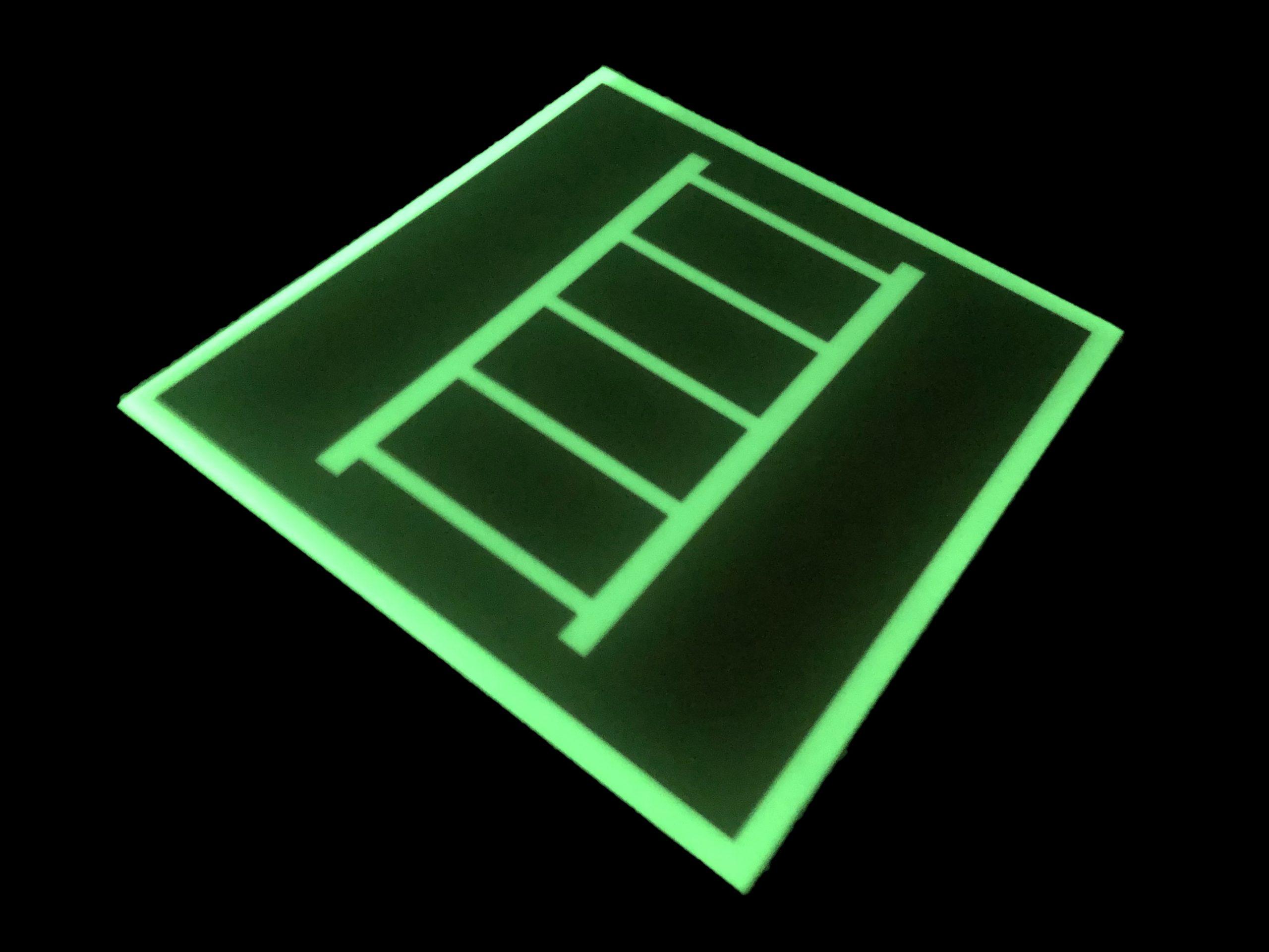 Фотолюминесцентный знак Пожарная лестница