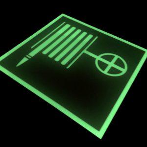 Фотолюминесцентный знак Пожарный кран