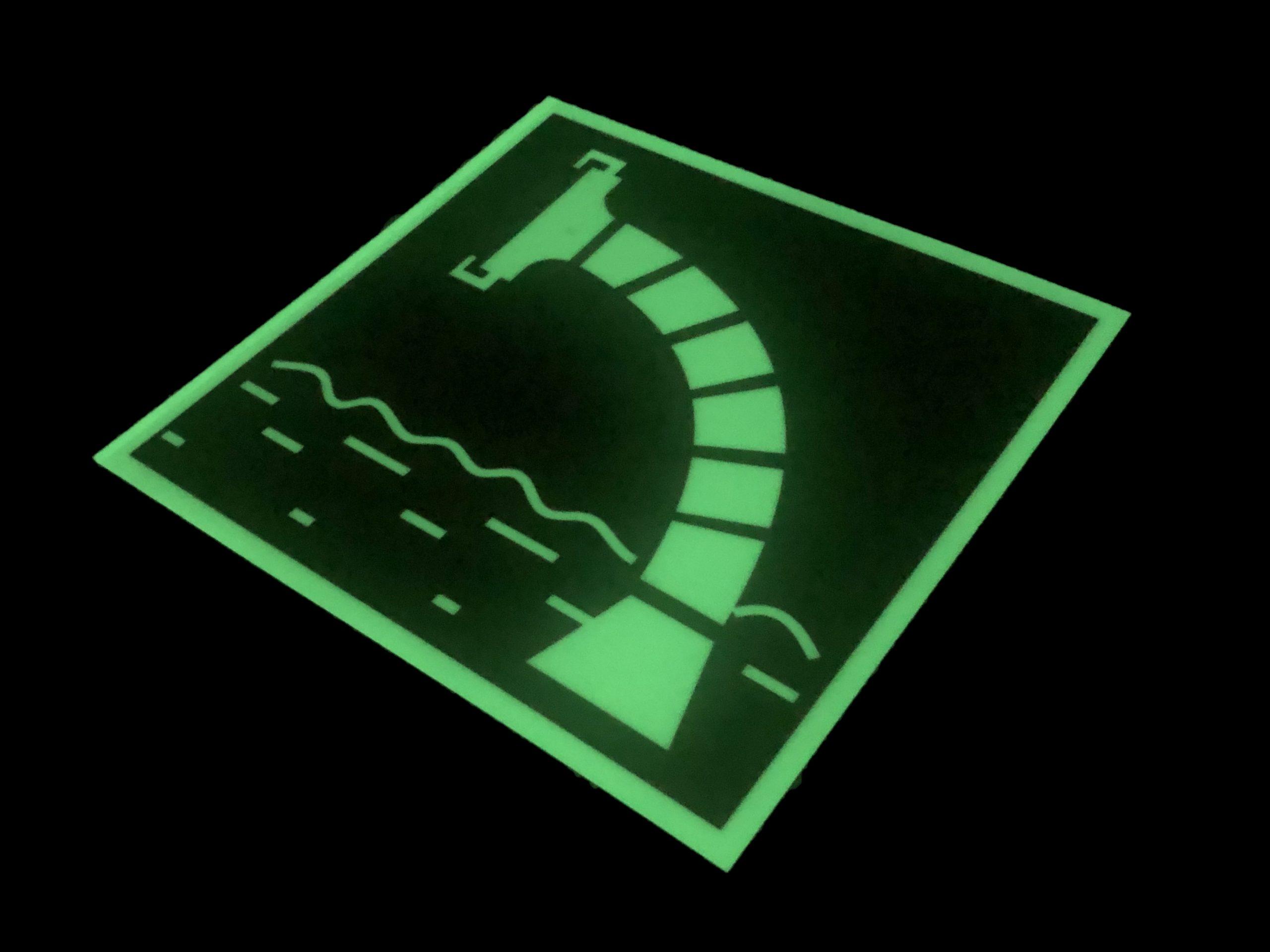 Фотолюминесцентный знак Пожарный водоисточник