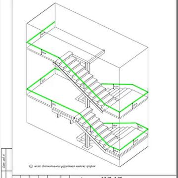 Разработка фотолюминесцентной эвакуационной системы для строительной компании ПИК, жилой комплекса Измайловский Лес