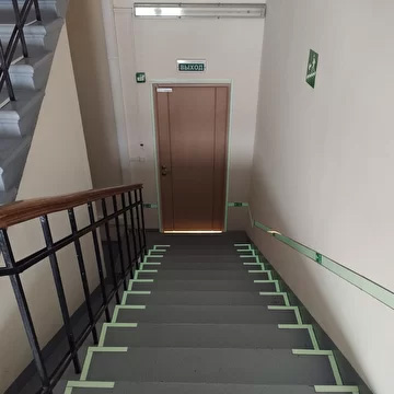 Фотолюминесцентные эвакуационные системы для строительной компании ПИК