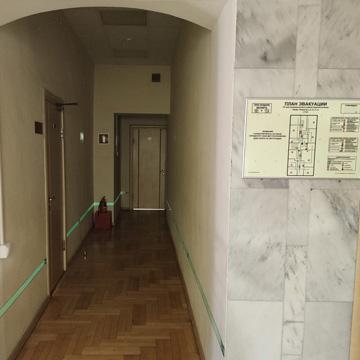Разработка и монтаж фотолюминесцентной эвакуационной системы для административного здания Центральной Организации Дорожного Движения Москвы ЦОДД
