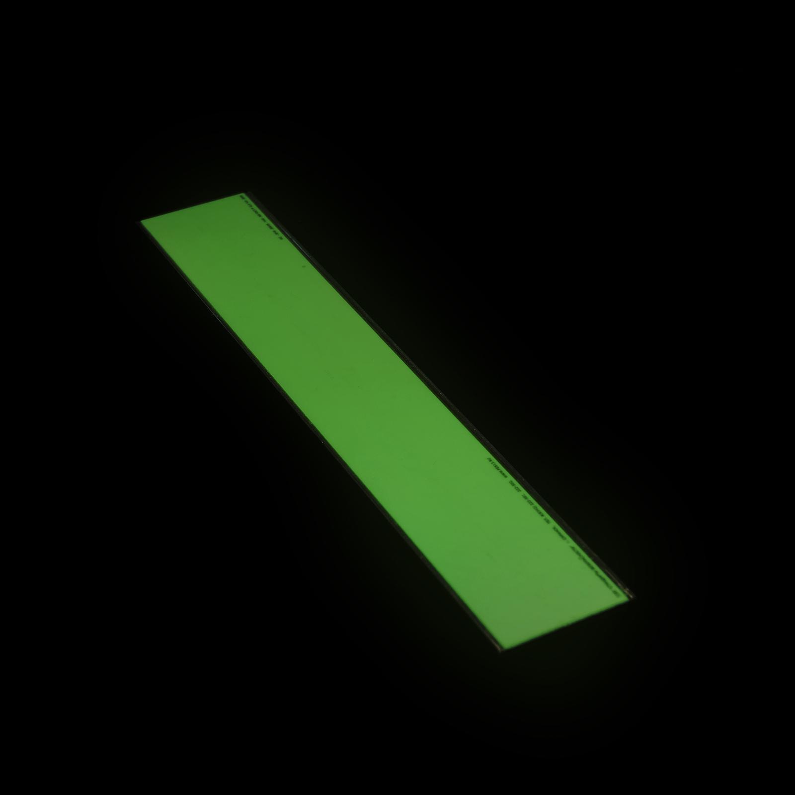 Фотолюминесцентная износостойкая полоса ФЭС Без нанесения в темноте
