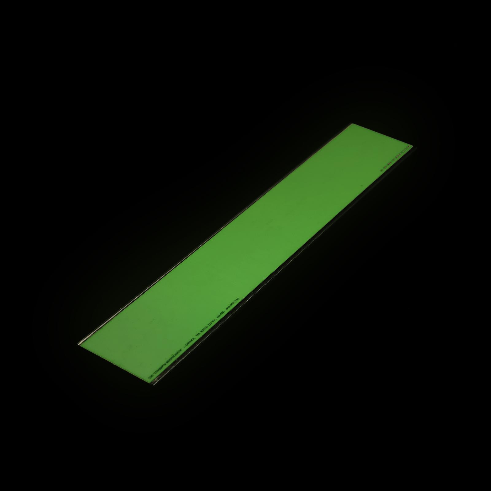 Фотолюминесцентная полоса Без нанесения в темноте